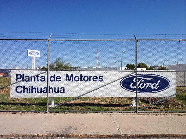 Ford Chihuahua Plant in Mexico