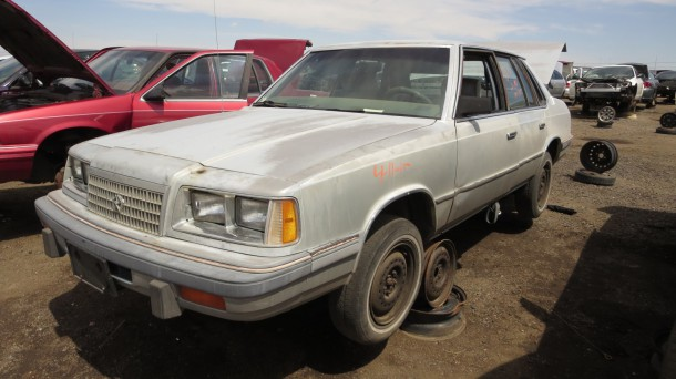 00 - 1987 Plymouth Caravelle Down On the Junkyard - Picture courtesy of Murilee Martin