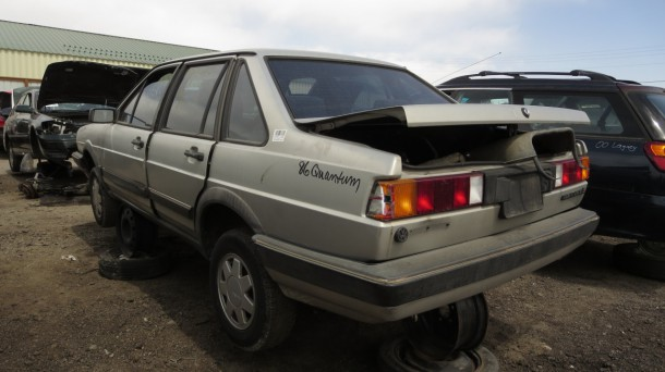 10 - 1986 Volkswagen Quantum Down On the Junkyard - Picture courtesy of Murilee Martin