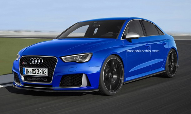 Audi RS3 Render / Theophilus Chin