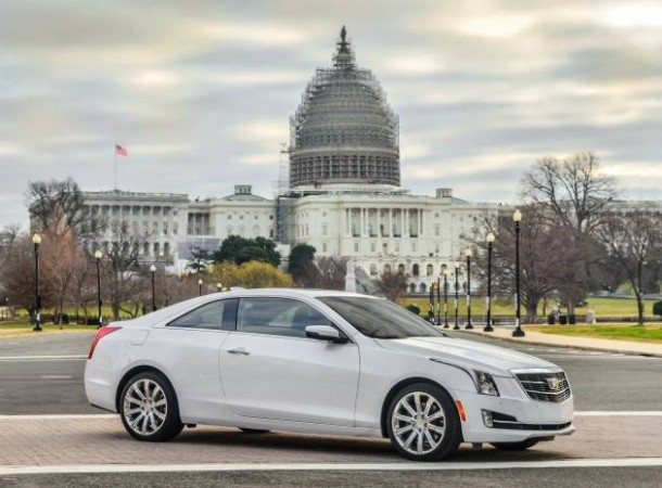 2015 Cadillac ATS Near Capitol Hill Circa January 2015