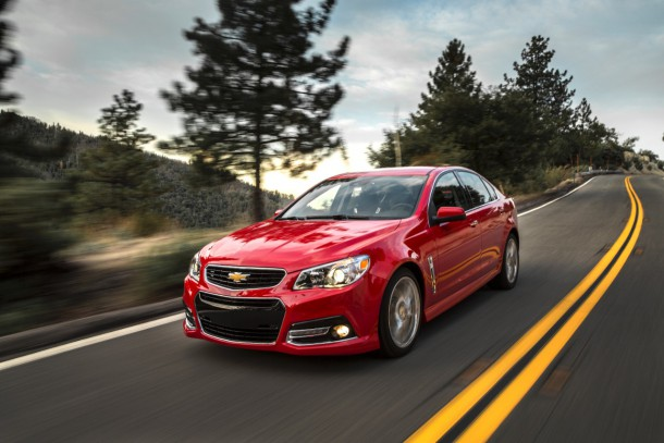 2015 Chevrolet SS front
