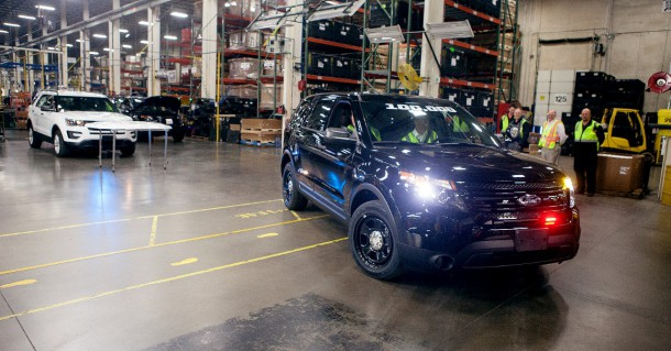 2015 Ford Explorer Police Interceptor Utility