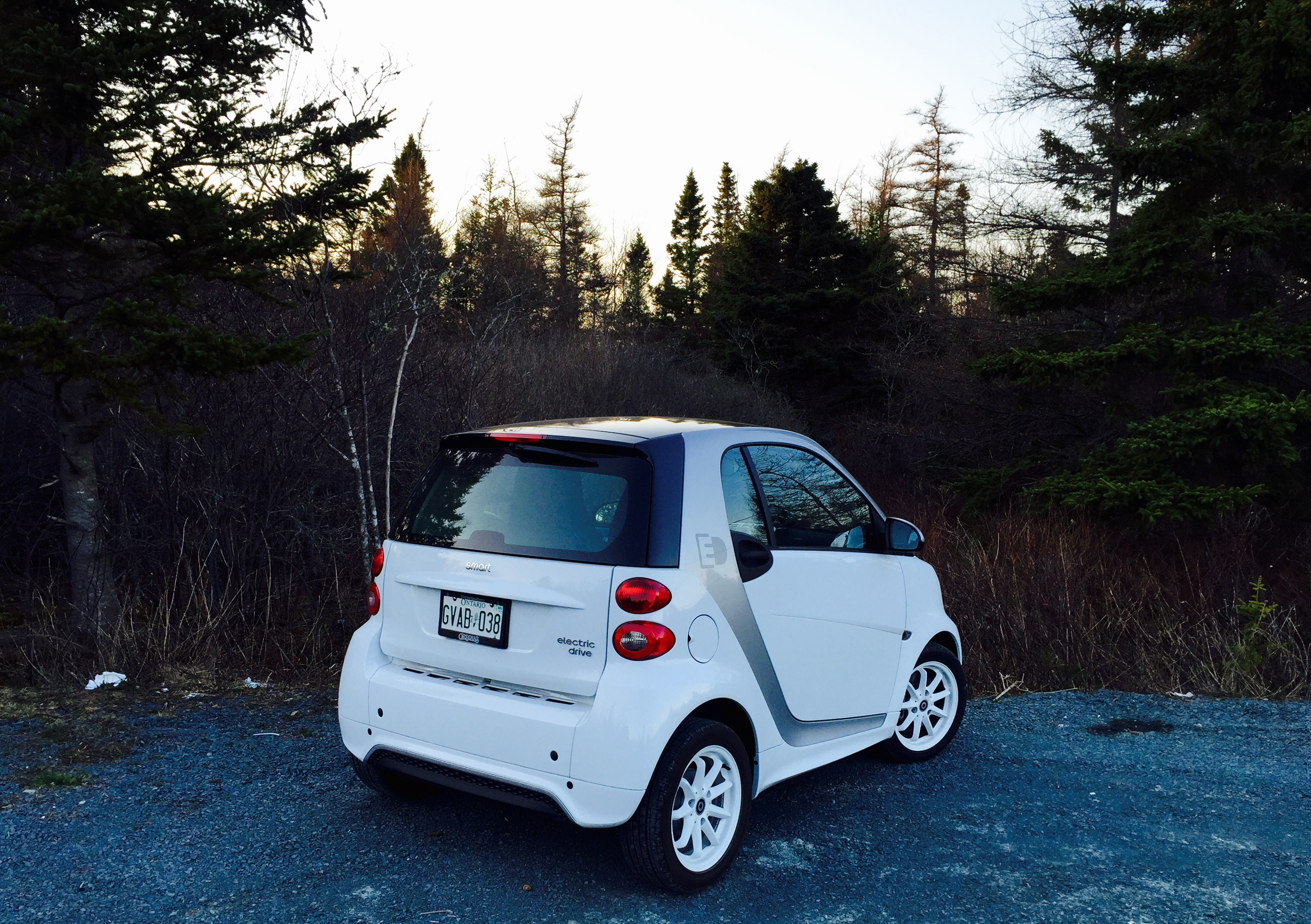2017 Smart Fortwo Ed Rear