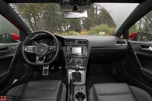 2017 Vw Gti 2 Door Interior 004