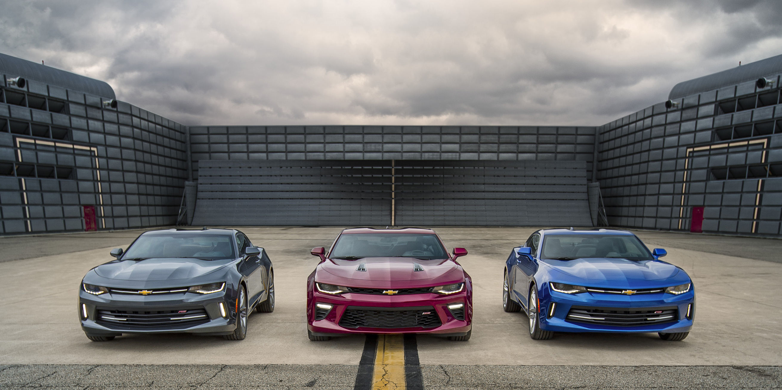 The 2016 Chevrolet Camaro Was Introduced May 16, 2015, At A Special Event  In. U201c
