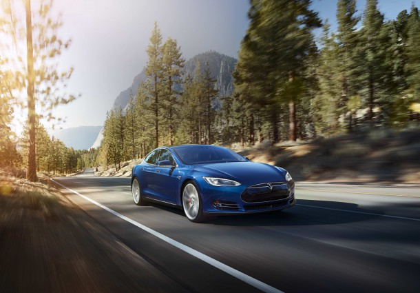 Tesla Model S In Hero Blue, Image: Tesla