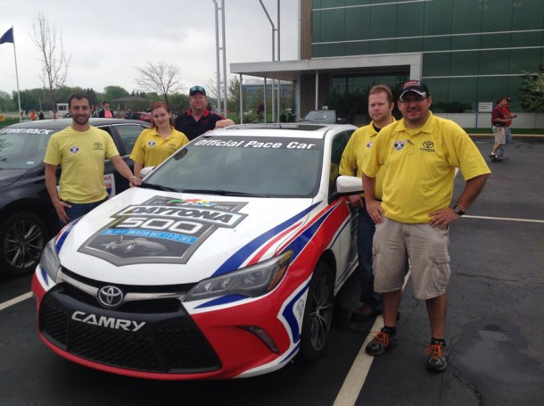 TRD Camry XSE Pace Car