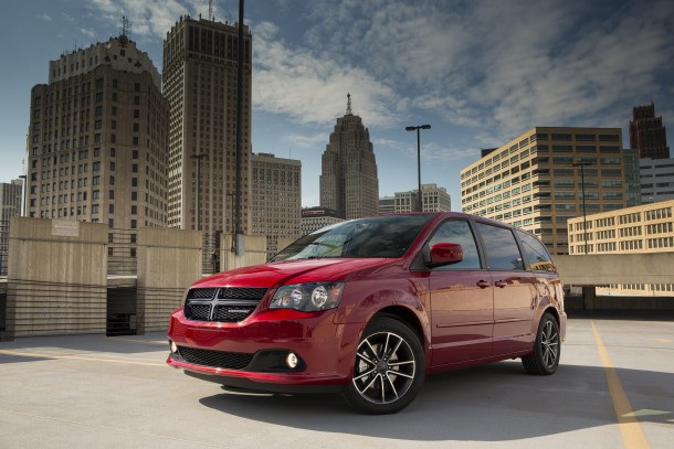 2015 Dodge Grand Caravan SXT Blacktop Package