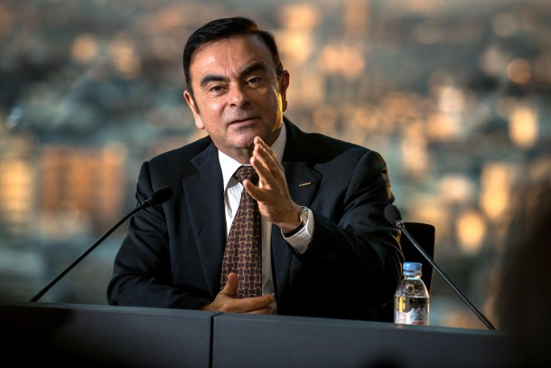 Carlos Ghosn (Image: Nissan)
