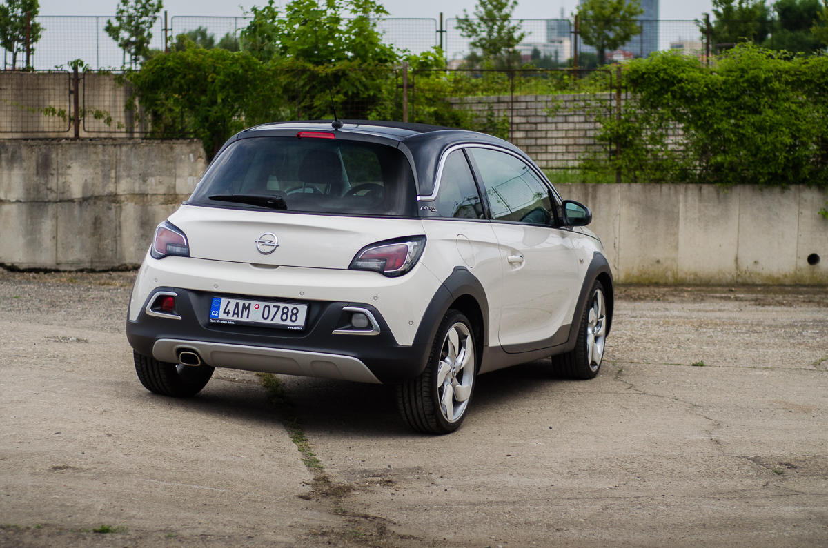 2015 opel adam rocks european review the truth about cars. Black Bedroom Furniture Sets. Home Design Ideas