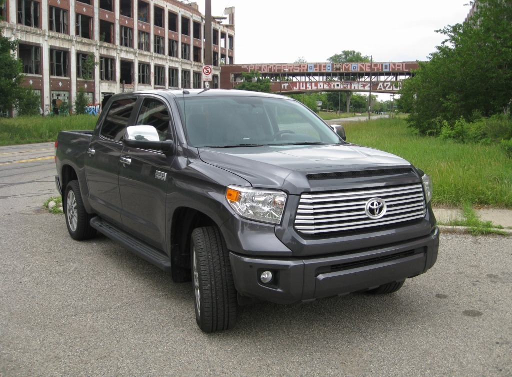 2014 toyota tundra crewmax platinum 4x4 review the truth about cars. Black Bedroom Furniture Sets. Home Design Ideas