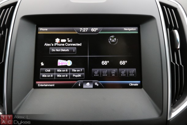 2015 Ford Edge MyFord Touch