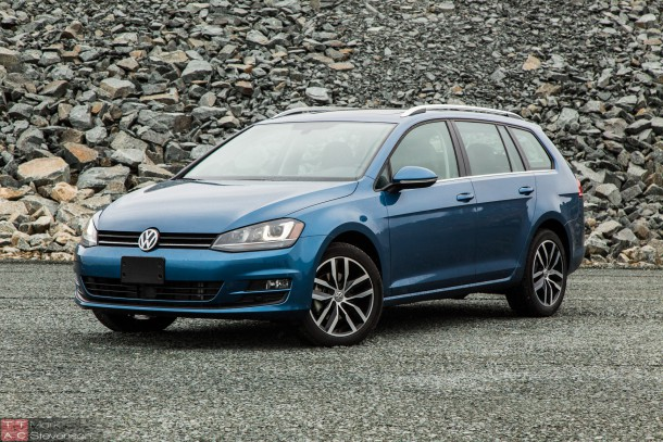 2015 Volkswagen Golf Sportwagon TDI (1 of 14)