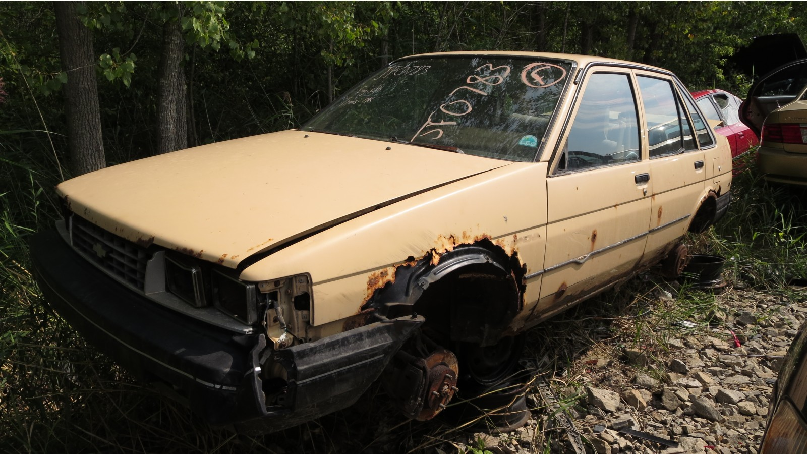 1986 chevrolet nova sedan wisconsin rust edition rh thetruthaboutcars com 1986 Chevy Nova Interior 1988 Chevy Nova Sedan