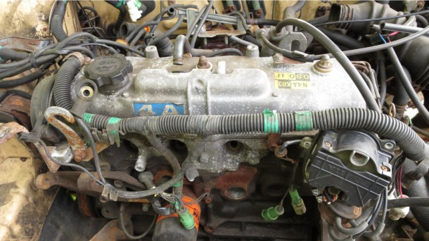 how to tell if a junkyard motor is good