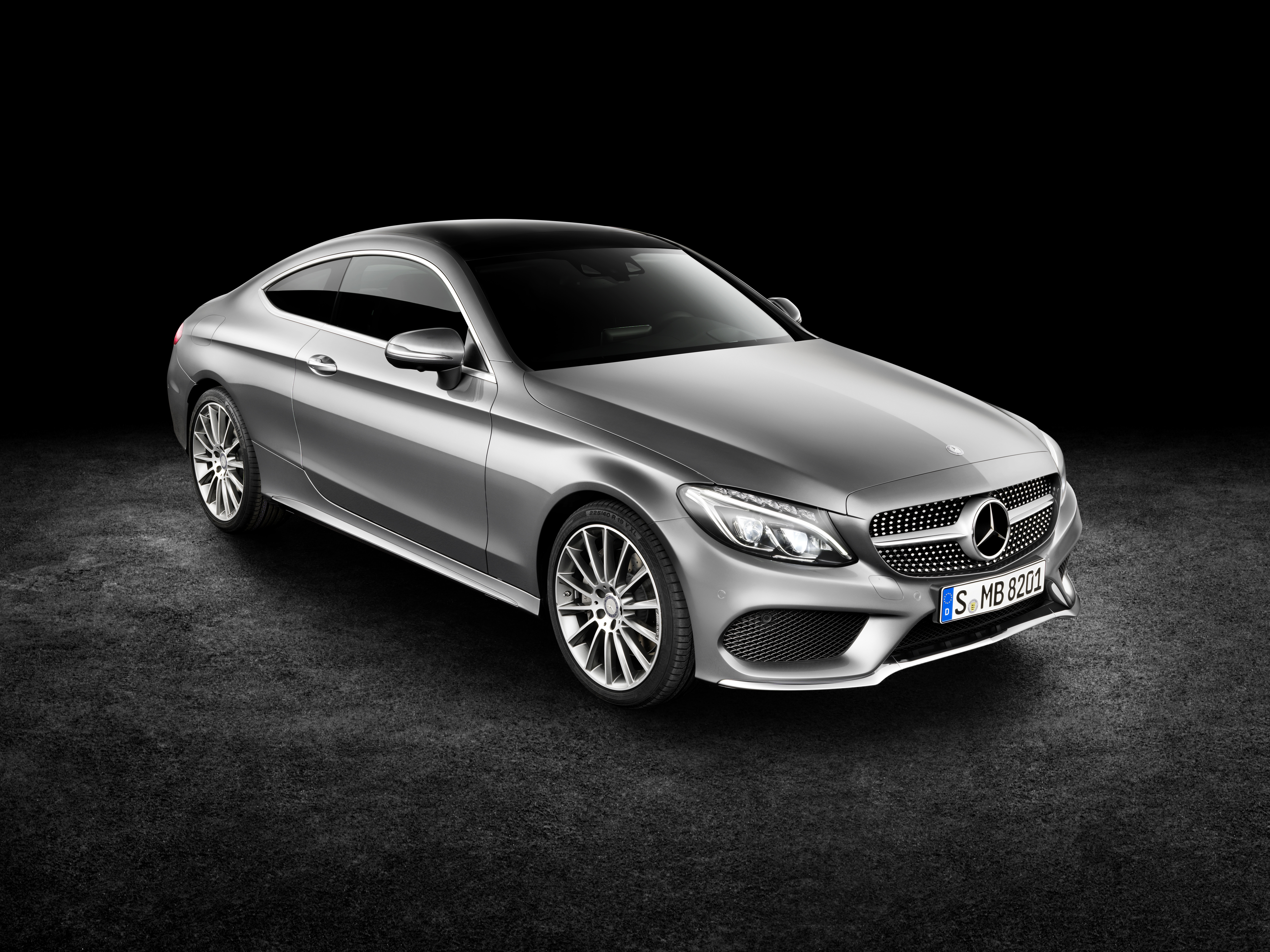 The 2017 Mercedes Benz C Class Coupe Is A Real Two Door
