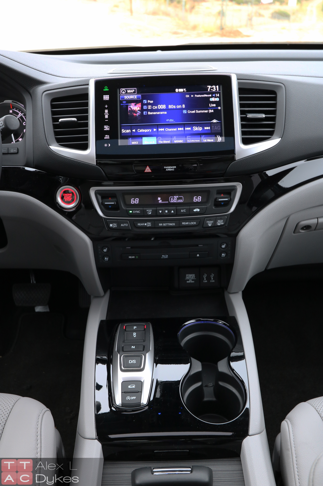 2016 Honda Pilot Interior-025 - The Truth About Cars