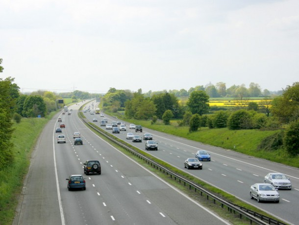 M4 Motorway England, UK