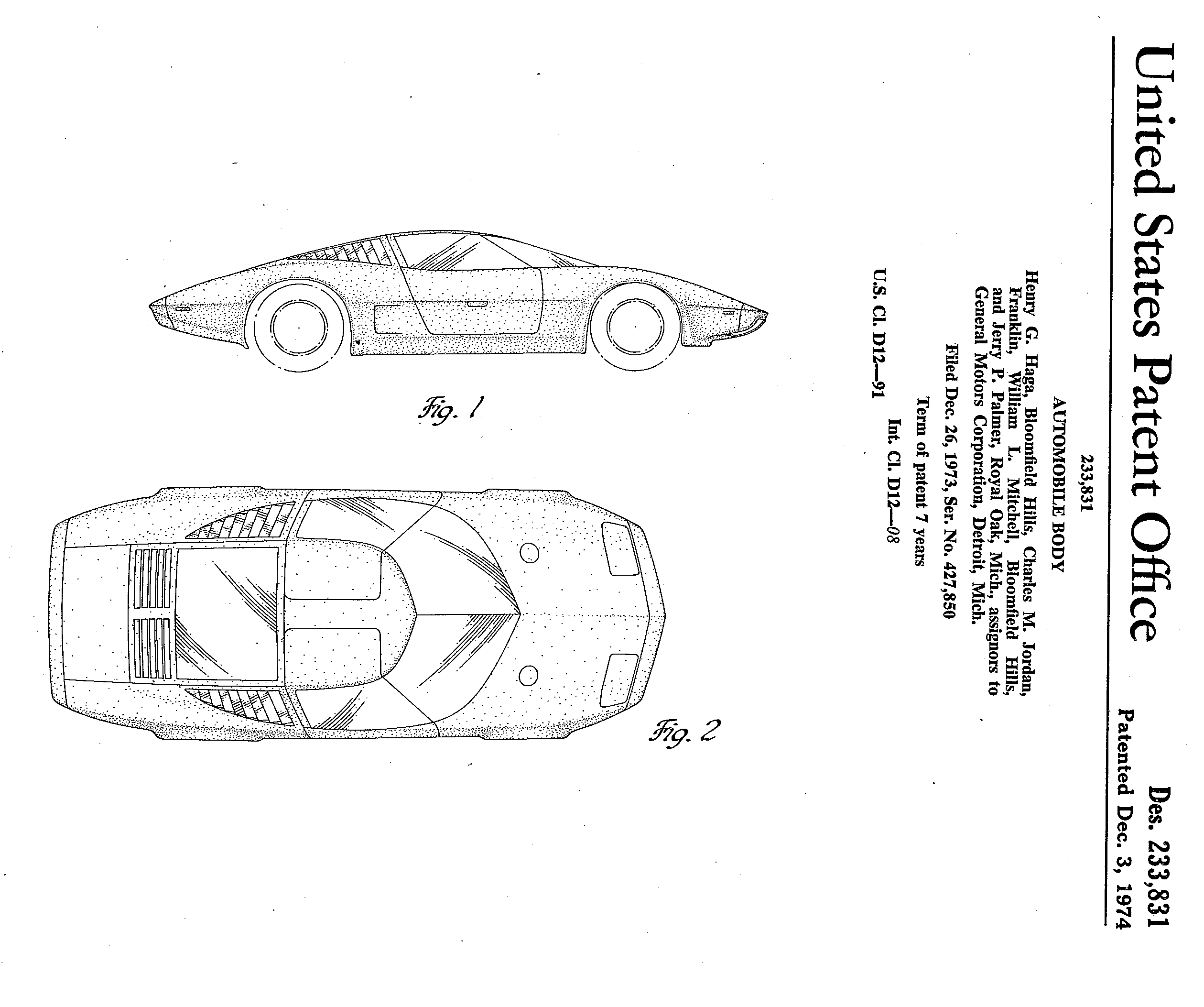 designers and their cars  u2013 automotive patent art revisited