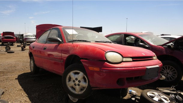 00 1999 Dodge Neon In Colorado Wrecking Yard Photo By Murilee Martin