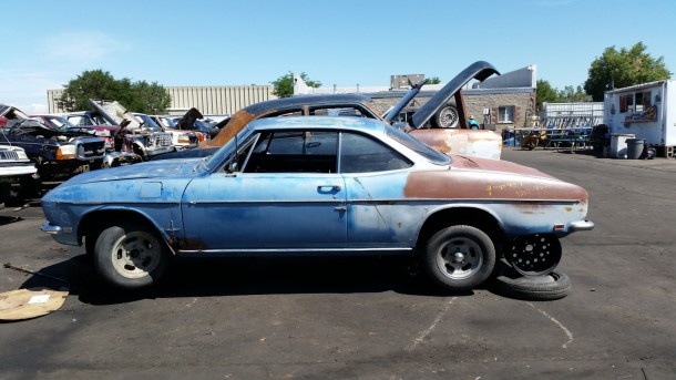 12 - 1968 Chevrolet Corvair Down On the Junkyard - Photo by Murilee Martin