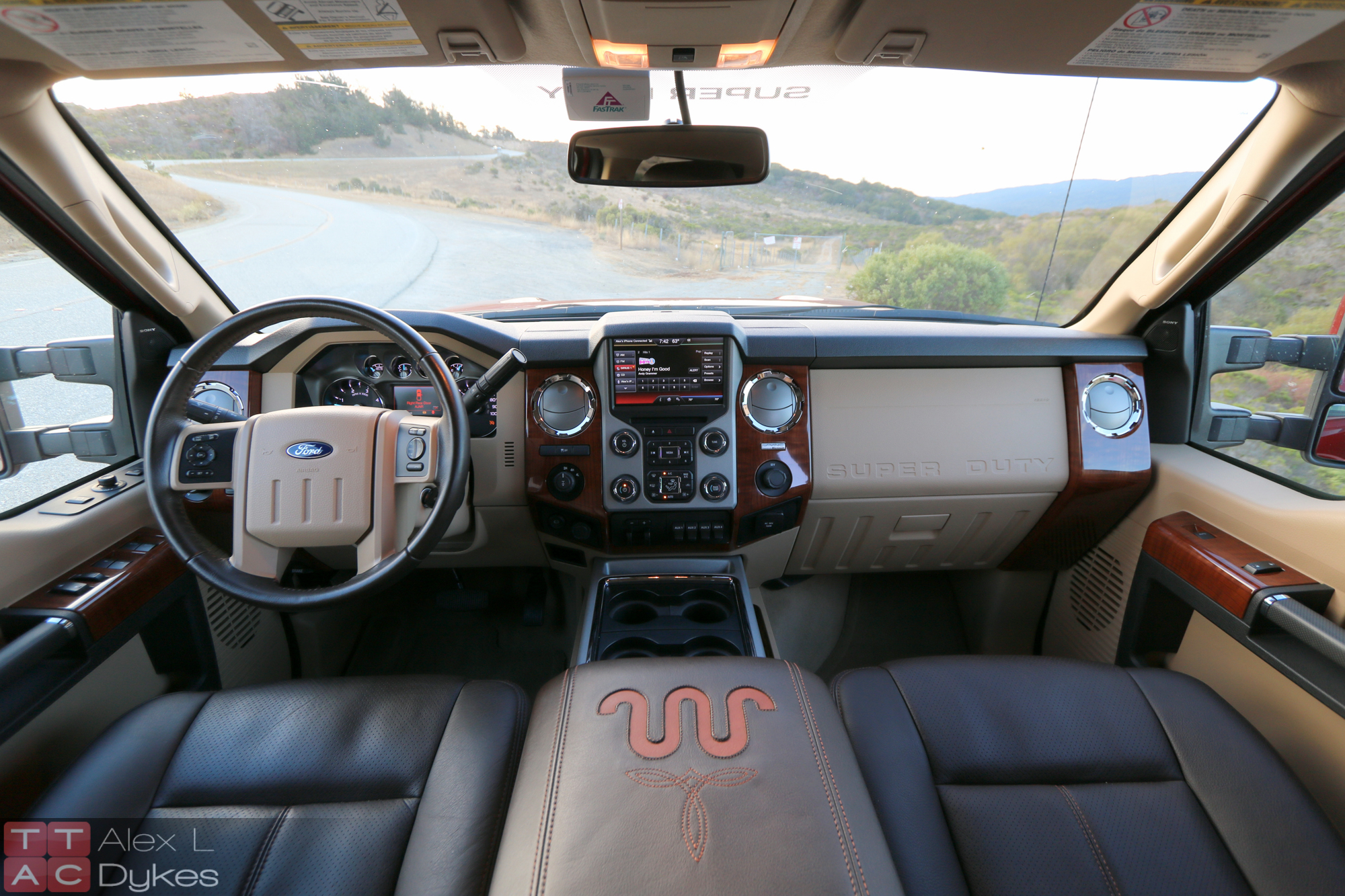 2007 ford f350 lariat interior