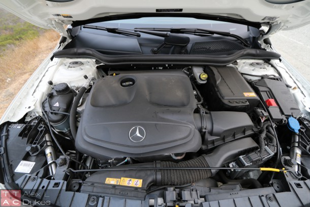 2015 Mercedes GLA 250 Engine