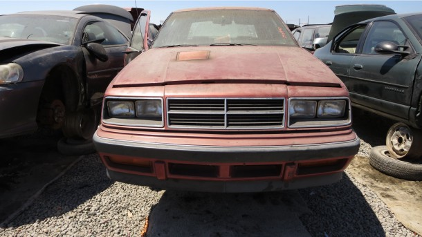 21- 1985 Dodge Lancer ES Down On the Junkyard - Picture courtesy of Murilee Martin