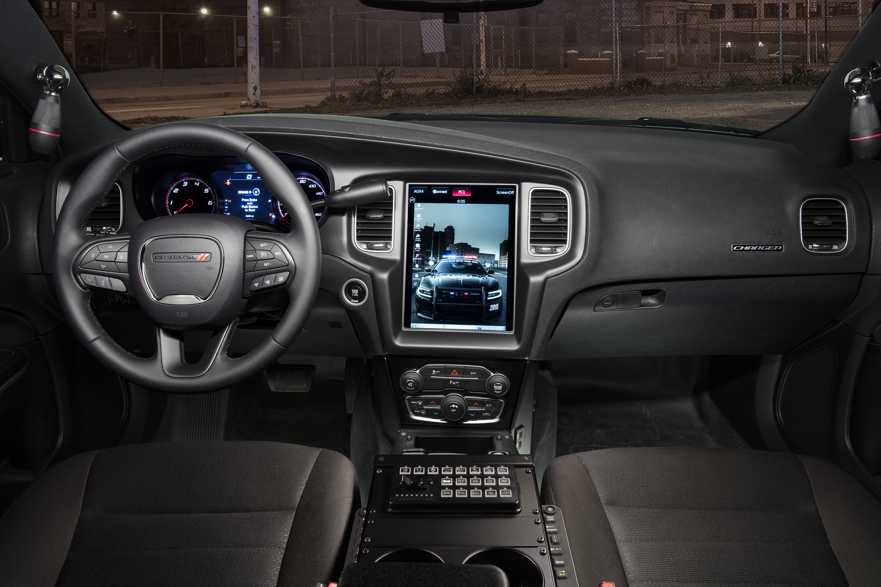 Dodge Installing 12.1-inch Touchscreen on Police Vehicles