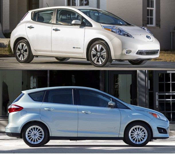 Nissan Leaf vs. Ford C-Max Energi
