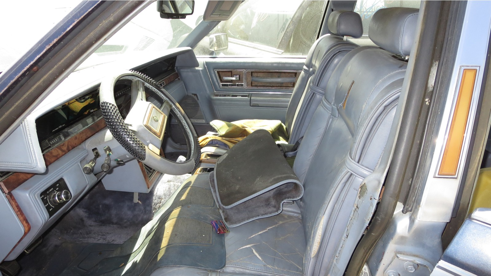 1983 Lincoln Continental Junkyard Find Wiring Diagram Auto Reverse Was A Futuristic Option On Cassette Decks