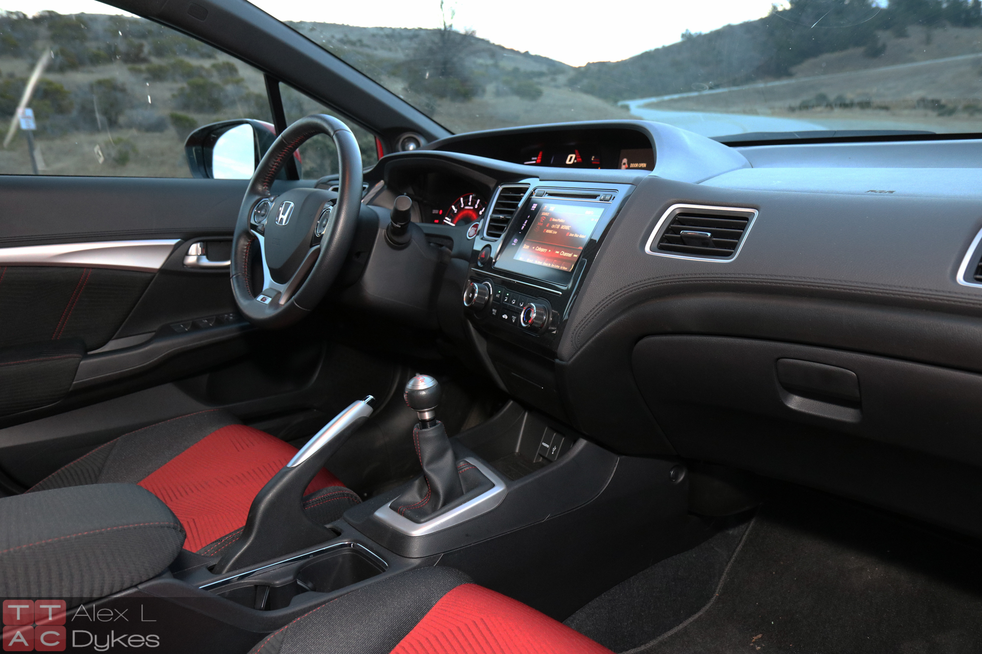 2015 Honda Civic Si Sedan Interior 004 The Truth About Cars