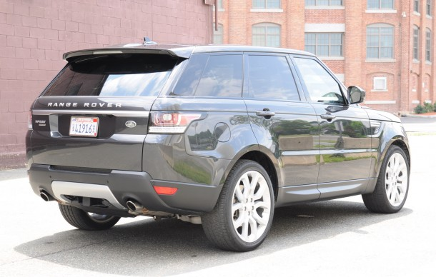 2015 Land rover land rover sport hse rear side