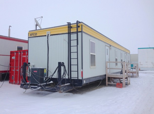 Typical Prudhoe Bay pre-fabricated module