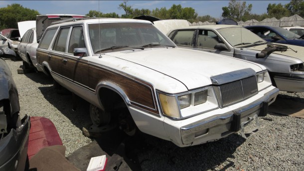 16 - 1982 Mercury Marquis Wagon in California junkyard - photo by Murilee Martin