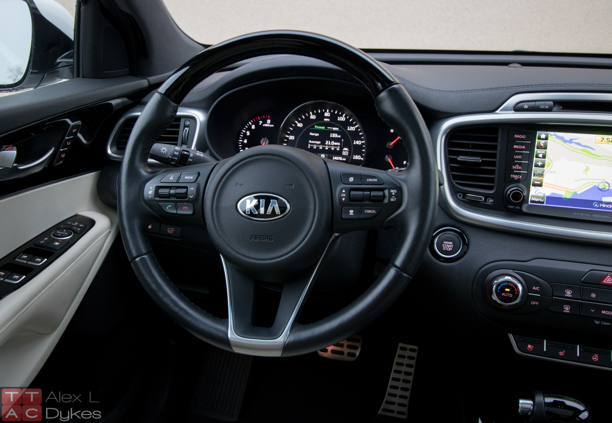2016 Kia Sorento Limited Interior 007 The Truth About Cars