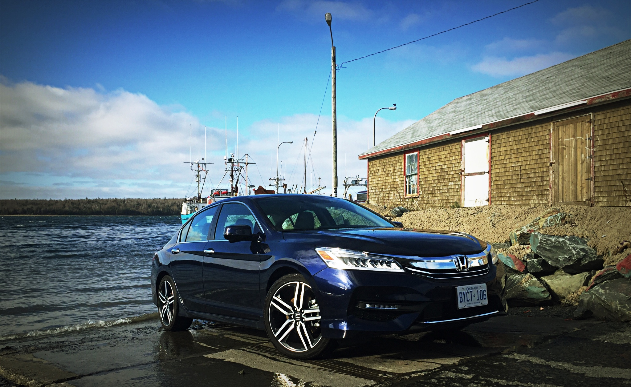 2016 Honda Accord Touring 24l Front