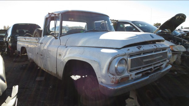 26 - 1967 International Harvester pickup in Colorado junkyard - photo by Murilee Martin