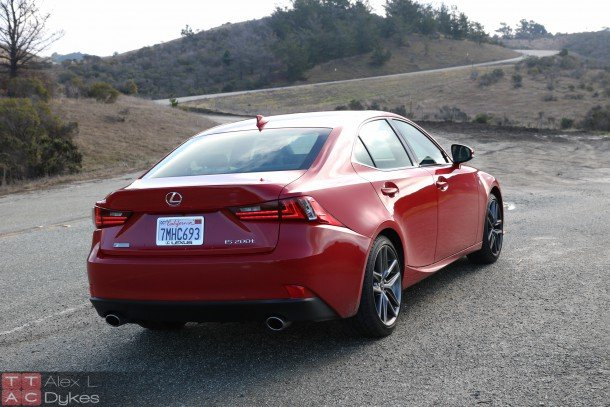 2016 Lexus IS 200t Exterior-007