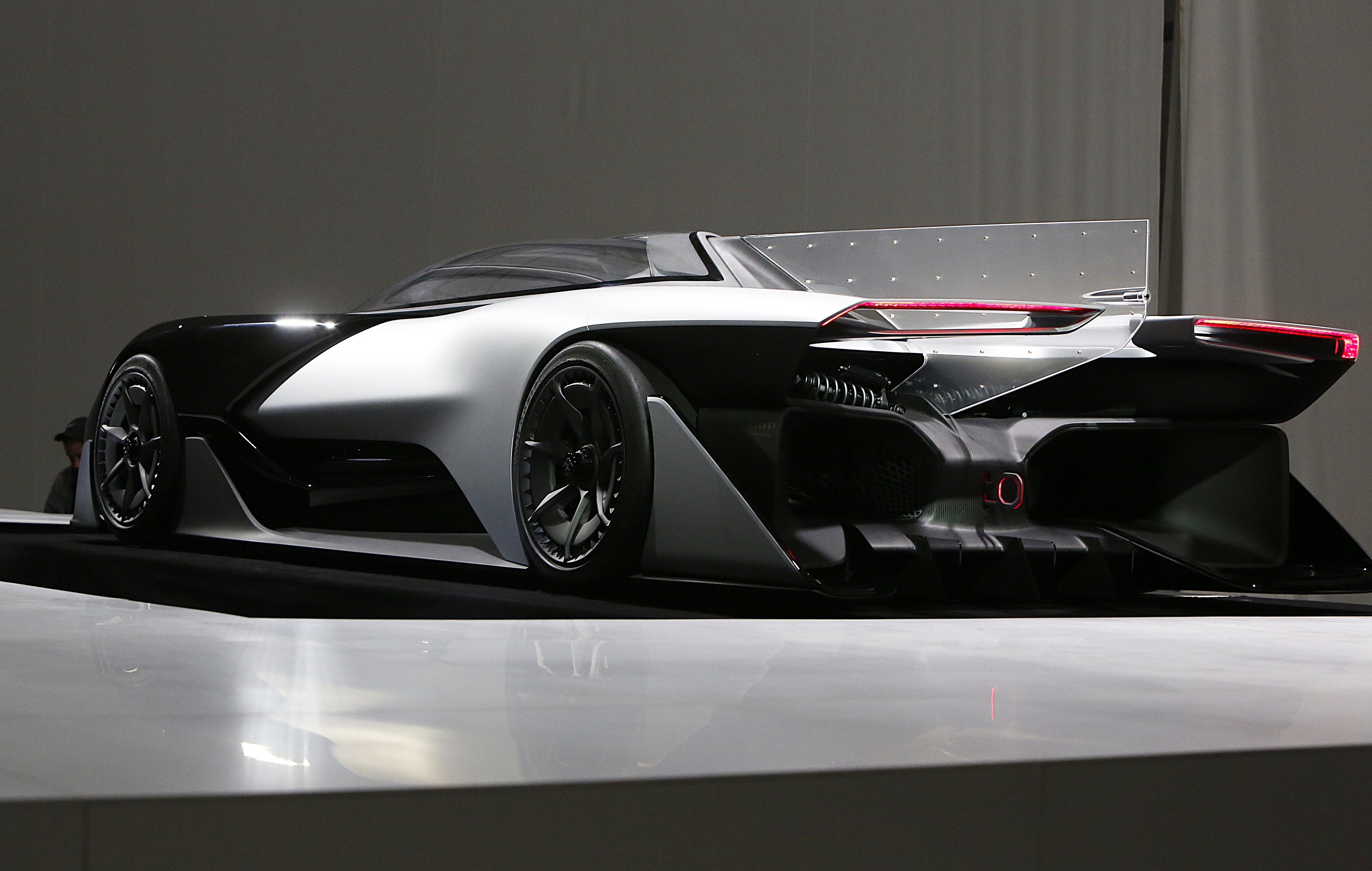 Faraday Future Ffzero1 Concept Revealed