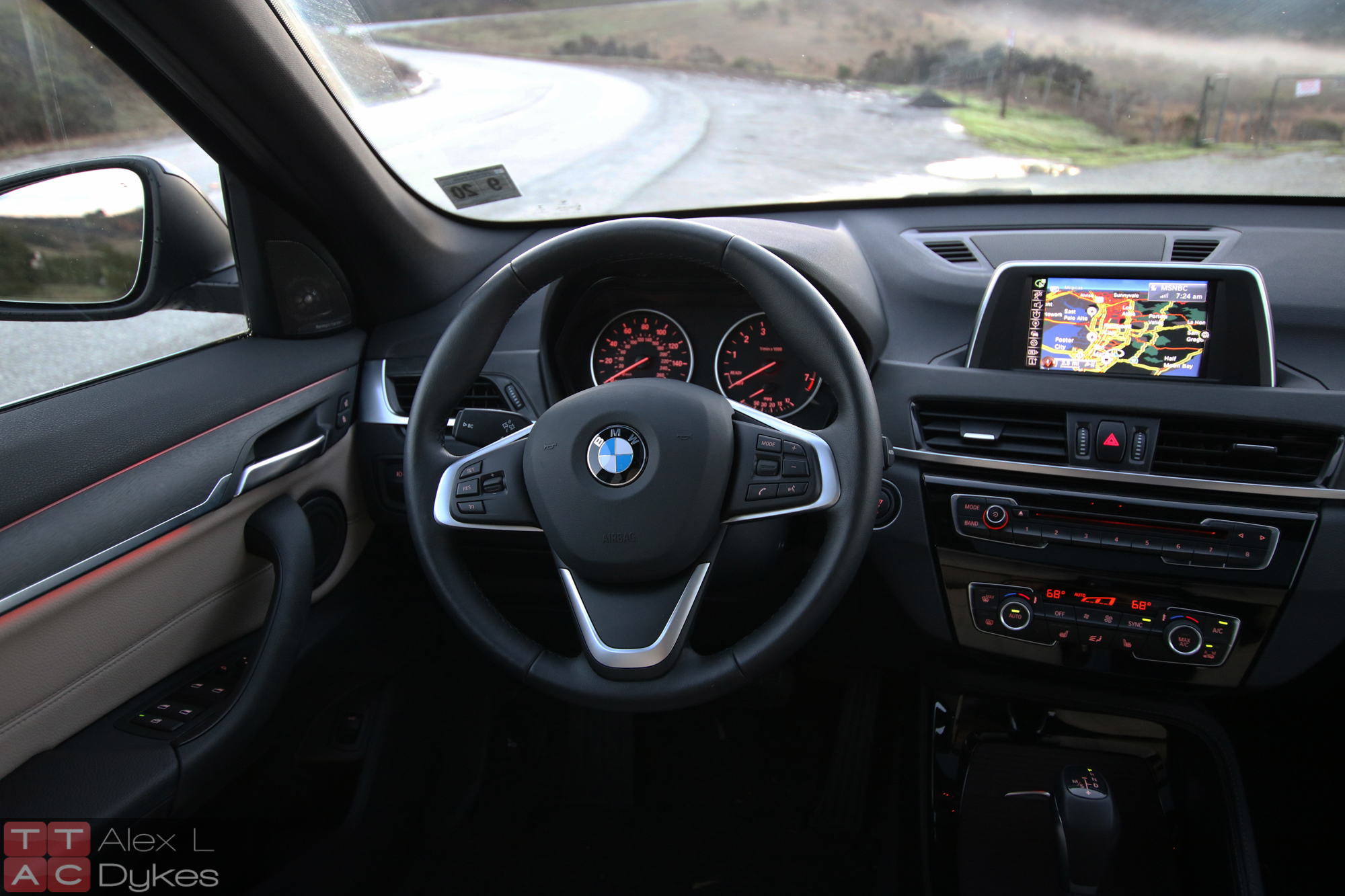 2016 bmw x1 interior 014 the truth about cars. Black Bedroom Furniture Sets. Home Design Ideas