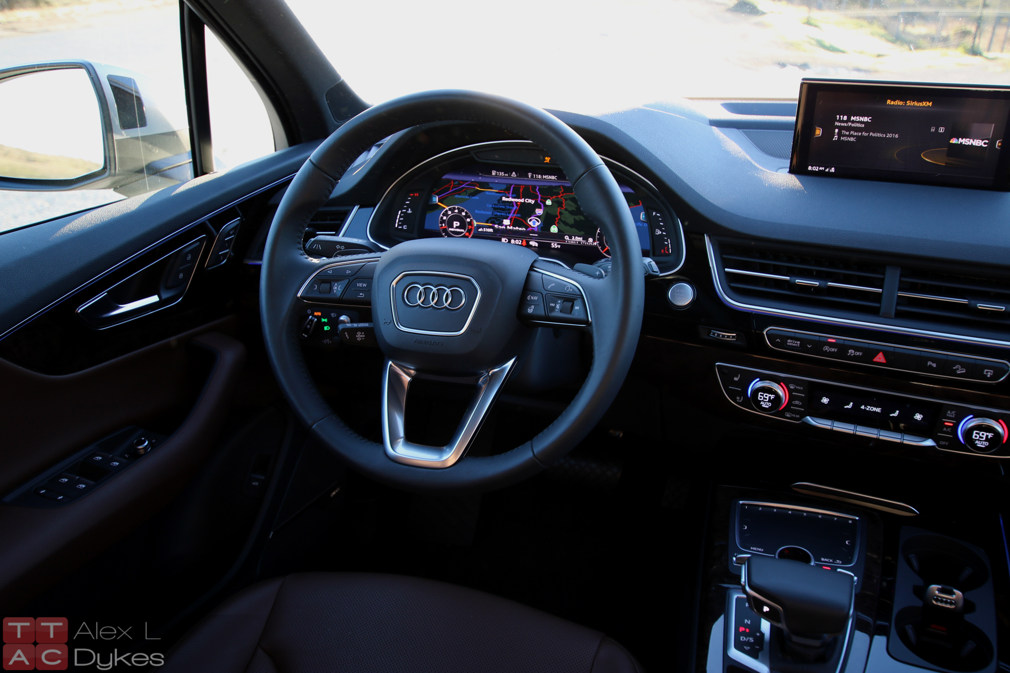 2017 Audi Q7 Interior, Image: © 2016 Alex Dykes/The Truth About Cars