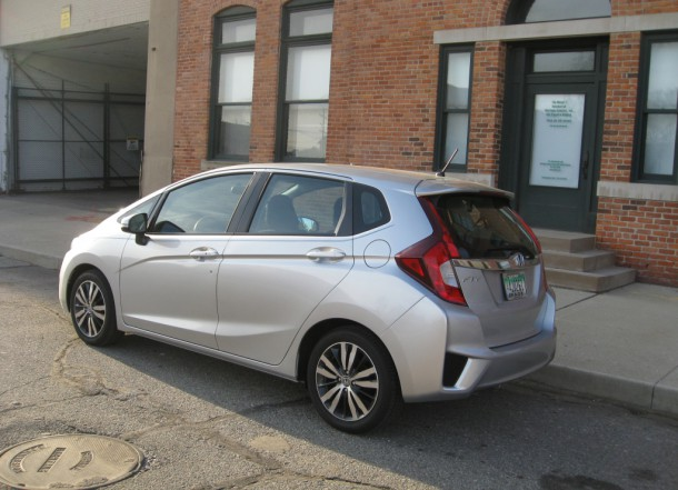 2015 Honda Fit EX 6MT Rear 3/4, Image: Ronnie Schreiber/The Truth About Cars