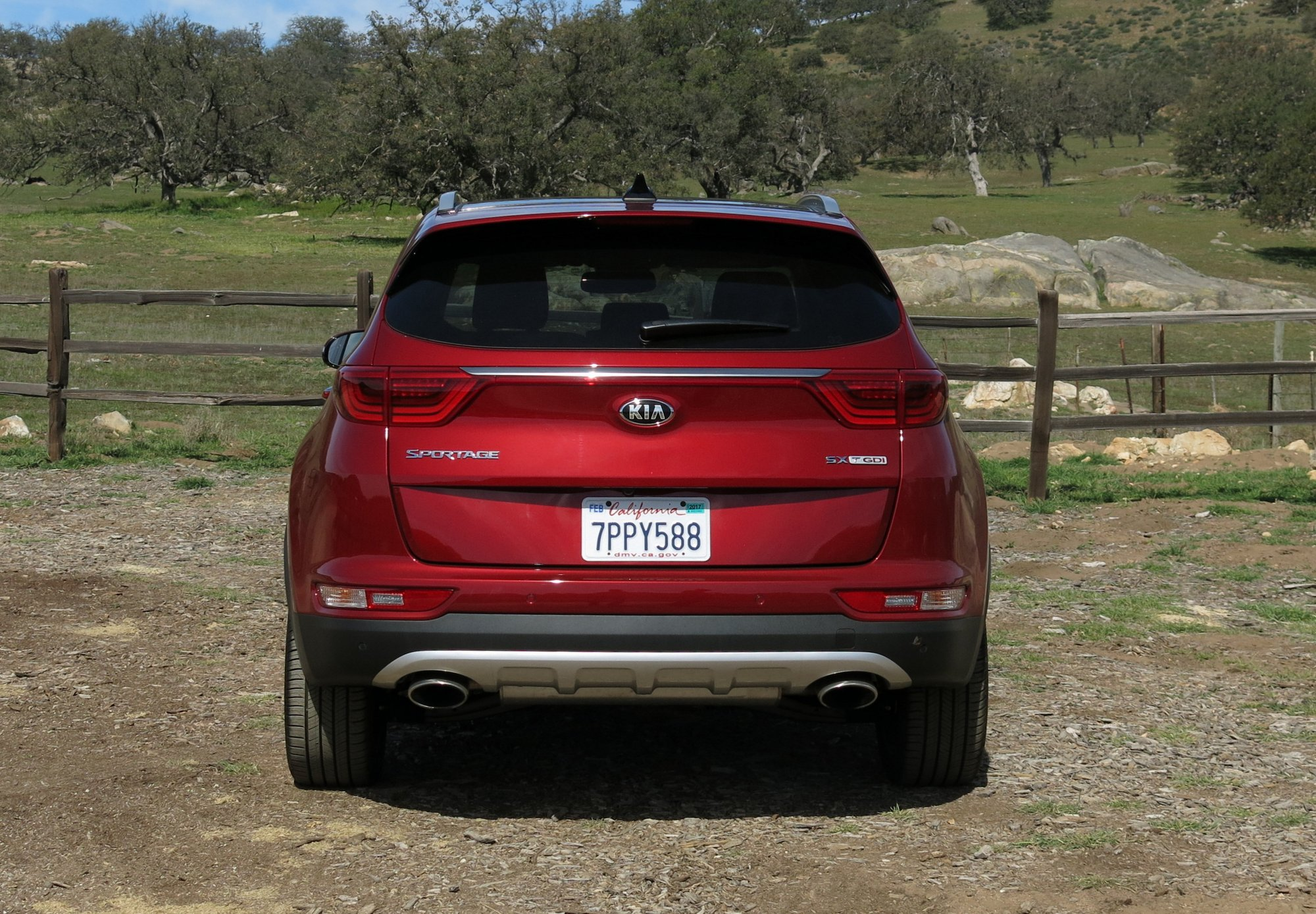 2017 Kia Sportage Exterior Rear Image 2016 Alex S The Truth About