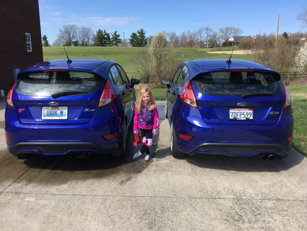 Bark and Danger Girl's Ford Fiesta STs, Image: © 2016 Bark M./The Truth About Cars