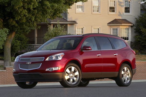 2009 Chevrolet Traverse LTZ. image: GM/Chevrolet