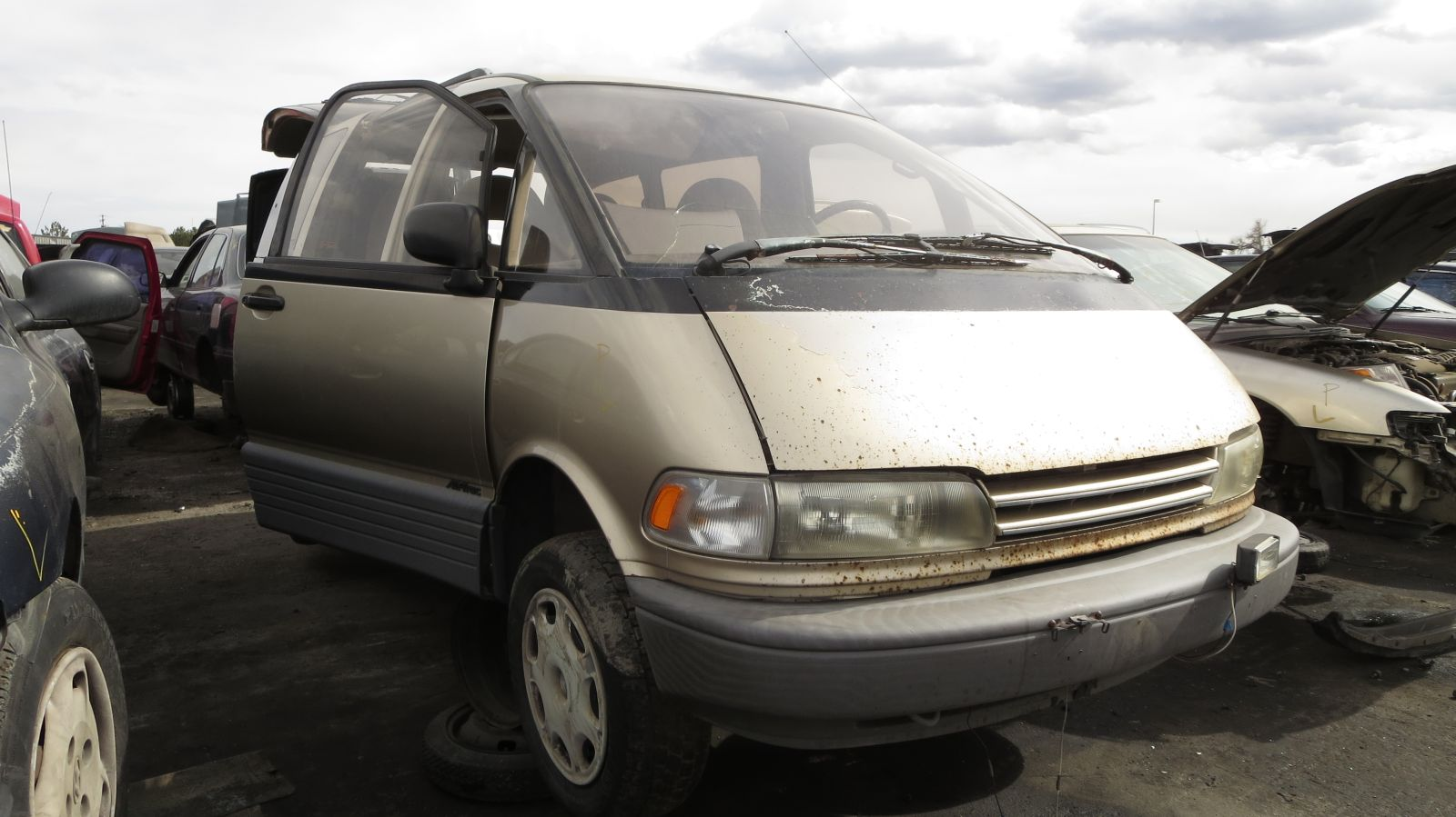 toyota previa manual transmission swap