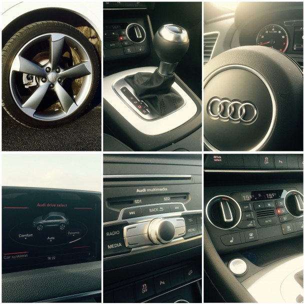 2016 Audi Q3 interior, Image: © 2016 Timothy Cain/The Truth About Cars