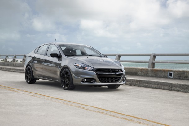2016 Dodge Dart Blacktop, Image: Fiat Chrysler Automobiles